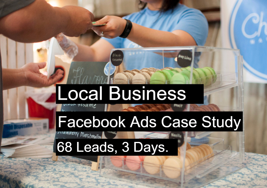 Local Business Facebook Ads Case Study